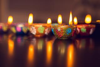 Diyas (Clay lamps)