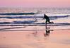 Lanzando la agarra (pericoterrades) Tags: atarraya pesca pescador playas mar atardecer bajamar