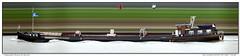 San Antonio (Morthole) Tags: slitscan ship boat schip boot barge binnenvaart schiff rheinschiff sanantonio bulk vrachtschip schã¼ttgutfrachter