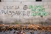 """#Manif10octobre #Nantes #GameOfTags: """"UN COMICO QUI CRAME C'EST DE L'ART"""" (A) """"C'EST LA PUISSANCE!!!"""" (ValK.) Tags: gameoftags loitravailxxl pjlterrorisme loitravail cabanedupeuple etatdurgencepermanant maisondupeuple nantes politique valk demonstration fonctionpublique graff graffiti greve intersyndicale manifestationunitaire social tag france fr"""
