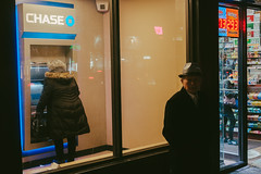 ATM, Forest Hills (instagram.com/lanolan) Tags: color foresthills fuji fujifilm fujifilmxpro2 newyork newyorkcity newyorknewyork night ny nyc outdoors outside people queens streetphotography thebigapple xpro2