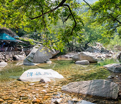 DSC07605 (nigel0577) Tags: laoshan nine waters water rock mountain clear waterfall green sony alpha a99ii a99 carl ziess 2470mm 2470 polarizer lengcuixia nature beauty midday sun harsh light qingdaoshi shandongsheng china cn