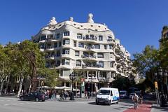 Casa Mila (joscelyn_p) Tags: casamila lapedrera antonigaudi gaudi barcelona spain europe architecture building travel traveler traveling canon lightroom