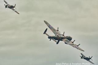 Royal Air Force (BBMF) Lancaster Battle of Britain 2017 Duxford