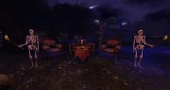 Tea Anyone? (Kristi__Renae) Tags: haunted ghosts zombies killers spooky halloween jason witch midnight foggy bloody cemetery creepy frightening bones cadaver ghoul eerie reaper cauldron cobweb