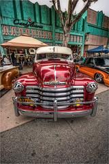 1953 chevy truck (pixel fixel) Tags: candylicious chevrolet diadelosmuertos grille pinstripes redandwhite truck uptown vertical whittier