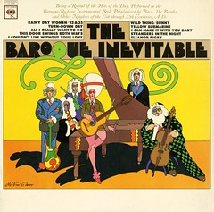 The Baroque Inevitable (grooveisintheart) Tags: miltonglaser albumcover baroque babyteeth typography graphicdesign vintage vinyl record illustration groovy mod psychedelic type:face=babyteeth