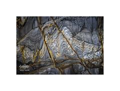 Historic Graph (silver/halide) Tags: redriver gwithian cornwall johnbaker rocks rockformation rockface cliffs texture tin quartz barnacles lowtide natural organic minerals strata stratum geology niftyfifty sedimentary