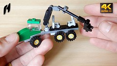 How to Build a Lego Forwarder (MOC - 4K) (hajdekr) Tags: assemblyinstructions guide buildingguide tuto tutorial tip help tips stepbystep inspiration design manual moc myowncreation instruction instructions lego buildingblocks forwarder harvestor harvester harvest load forestryvehicle forestry vehicle automobile truck toy small simple simply wheel wheels thinning logging machine machines allterrainvehicle allterrain terrain forest clearcutting cut cutting johndeere hydraulichand