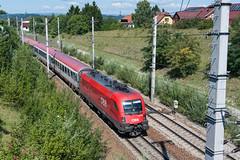 wb_110814_08 (Prefektionist) Tags: 1016 50mmf14d austria bahn d700 es64 eisenbahn loweraustria niederösterreich nikon oebb pottenbrunn rail railroad railway siemens stpölten taurus train trains westbahn öbb österreich