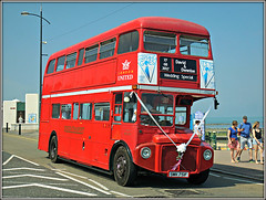 RML 2751, Margate (Jason 87030) Tags: routemaster londonbus wedding bus special event kent thanet seaside august 2017 doubledecker red ribbons denise david sunny rml2751 smk751f sony ilce nice rare pretty exclusive capture explore exist amazing pro amateur snap photo super great fantastic world bright light art photograph new trip uk sky travel sweet yummy bestoftheday smile picoftheday life allshots look likes lol flickr photostream transport preserved independant unitedkingdom greatbritain