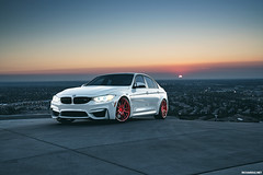BMW F80 M3 (Richard.Le) Tags: richard le photography automotive commercial sunrise bmw m power f80 m3 alpine white rohana wheels california sony a7rii full frame natural light tag hashtag flickr popular car transport german motors turbo saloon red angel eyes explore