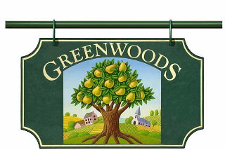 Greenwoods sign