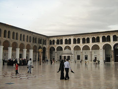 The Great Mosque of Damascus (marco_albcs) Tags: syria sirie síria damascus damasco asia middleeast east levante levant mosque greatmosque ummayyad temple architecture buildings classical