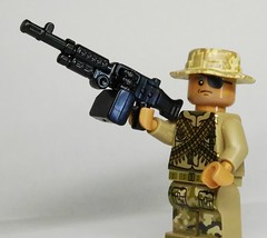 BrickArms M240B Prototype (enigmabadger) Tags: brickarms lego custom minifig minifigure fig weapon weapons accessory accessories combat war machine army mounted automatic auto fn mag