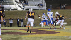 Stop route (AppStateJay) Tags: nikon d7100 tamron70200mmf28dildifmacro tamron70200mmf28 tjca thomasjeffersonclassicalacademy gryphons 2017 football season sport action athlete home game homecoming southernpiedmontconference varsity nc northcarolina rutherfordcounty