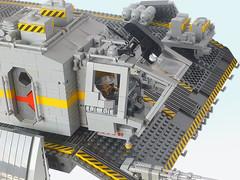Alien Covenant Lifter  10 (AL13N163NA) Tags: alien covenant space ship lifter shiptember spaceship steve burg