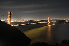 Light on the water. (ralph_harp) Tags: goldengatebridge le longexposure