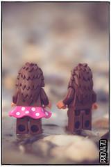 Romance in Rømø (Priovit70) Tags: lego minifigures bigfoot mcfootswednesday beach rømø denmark skaerbaekfanweekend macro olympuspenepl7