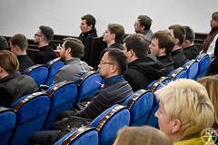 В Минской духовной академии прошла лекция профессора космологии и квантовой физики  Портсмутского университета диакона Алексея Нестерука