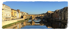 Bring back the sun (The Stig 2009) Tags: firenze florence tuscany italy river bridge ponte vecchio thestig2009 thestig stig 2009 2017 tony o tonyo water reflection blue sky sun sunshine bright warm beautiful