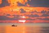 Calm Before (gseloff) Tags: sunrise surf water boat fisherman fishing ocean mullet jumpingfish bolivarflats galvestoncounty texas gseloff