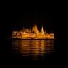 Hungarian Parliament Building (Robban.W) Tags: hungarian parliament building budapest nikon nikkor donau reflection night