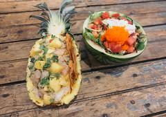 Pokeworks (_donaldphung) Tags: pokeworks poke pokebowl tuna salmon pineapple watermelon food foodie foodporn eat eats watermelonshiso