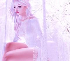 The forgotten bride (:-parfaitsprinkles-:) Tags: white bright 3d sl slife secondlife virtualfashion virtualgirl shopping virtual love pale pastels wedding fairytale truth nerido supernatural thetrunkshow luane world luanes kurima kuma chan