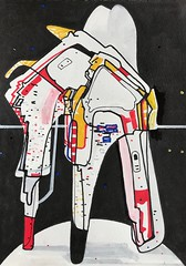 Jim Harris: Untitled. (Jim Harris: Artist.) Tags: art arte drawing dessin contemporaryart space cosmos metaphysical technology technik