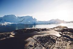 Kangia Icefjord - Ilulissat (dataichi) Tags: greenland travel tourism destination nature landscape outdoors north arctic ice glacier iceberg diskobay disko ilulissat kangia unesco icefjord fjord shore coast