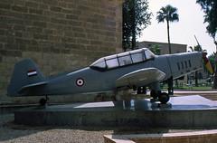 Zlin Z-226 Egyptian Air Force (EI-DTG) Tags: egyptianairforce zlin226 planespotting russianaircraft aircraftspotting cairo egyptiannationalmilitarymuseum 09nov1994 egypt museum airmuseum militaryaircraft militarymuseum