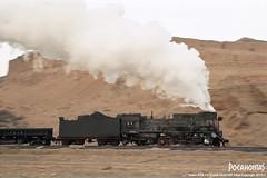 2016/1/1 JS8081 Sandaoling (Pocahontas®) Tags: js8081 steam railway railroad rail train locomotive loco engine sandaoling film 135film kodak ektar100