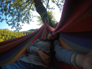 Me chillin' in the lovers hammock