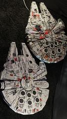 10179 vs 75192 09 (YgrekLego) Tags: ucs millenium falcon lego 10179 75192 comparison falke spaceship star wars epic lights gino lohse ygreklego