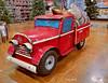 Big Kid's Toy (creepingvinesimages) Tags: htt orchardhardware handmade red truck model hardwarestore tigard oregon pse14 toppaz