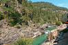 Water stop by the scenic Animas River rapids R1004164 Durango & Silverton RR (Recliner) Tags: baldwin dsng drg