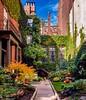 Beacon Hill Courtyard ((Jessica)) Tags: beaconhill boston leaves massachusetts newengland fall foliage