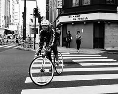 Kanda (RW Sinclair) Tags: 2017 asia autumn fall japan october sony a6000 alpha csc digital milc mirrorless street streetphotography urban city tokyo japanese people candid 日本 日本人 東京 街 市 白黒 モノクロ モノトン モノクロム ストリート blackandwhite bnw bw monochrome monotone kanda bicycle cyclist bike cycle cucling cycling jitensha 自転車