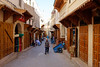 Restored shops in the Fez Medina, Morocco (Nicolas Bussieres (Lost Geckos)) Tags: fes fez morocco unesco restoration street