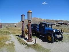 Bodie State Historic Park California USA (philip_wgtn_nz) Tags: bodie ruins town mine village abandoned california usa truck antique gasoline pump