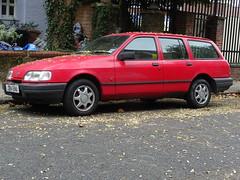 1991 Ford Sierra 1.6LX Estate (Neil's classics) Tags: vehicle wagon estate 1991 ford sierra 16lx car