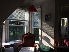 sunset :: shadows (origamidon) Tags: baywindow armchair mirror architecture naturesgeometry shadows sunset peaksisland maine me usa 04108 cumberlandcounty donshall origamidon