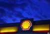 Sky Shell (Otacílio Rodrigues) Tags: céu placa logomarca logo shell posto gasstation horaazul bluehour nuvens clouds urban resende brasil oro topf25