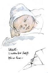 Léone (gerard michel) Tags: sketch croquis