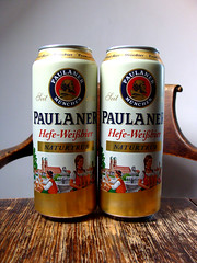 Paulaner Hefe-Weissbier Naturtrüb (knightbefore_99) Tags: can paulaner hefe weisbier deutschland germany purity hops malt tasty beer cerveza pivo art awesome bavaria 1634 munich