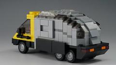 Sebastian_Van_02 (kaba_and_son) Tags: blade runner sebastian van lego bladerunner armadillovan ブレードランナー レゴ セバスチャン バン トラック アルマジロ