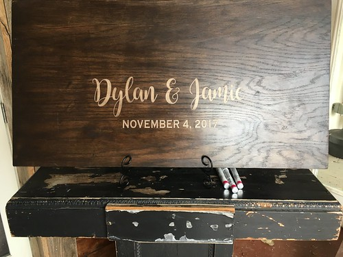Jamie & Dylan of Topeka, Kansas were married at Stony Point Hall on November 4, 2017
