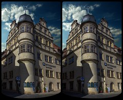 Old town of Quedlinburg 3-D / Stereoscopy / CrossEye / HDR / Raw (Stereotron) Tags: quedlinburg sachsenanhalt saxonyanhalt ostfalen harz mountains gebirge ostfalia hardt hart hercynia harzgau wyndham hotel antiquated ancient medieval middleages architecture quietearth europe germany crosseye crosseyed crossview xview cross eye pair freeview sidebyside sbs kreuzblick 3d 3dphoto 3dstereo 3rddimension spatial stereo stereo3d stereophoto stereophotography stereoscopic stereoscopy stereotron threedimensional stereoview stereophotomaker stereophotograph 3dpicture 3dglasses 3dimage hyperstereo twin canon eos 550d yongnuo radio transmitter remote control synchron kitlens 1855mm tonemapping hdr hdri raw