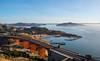 San Francisco Bay (Nikhil Ramnarine) Tags: sanfrancisco goldengatebridge bridge mist sausalito bayarea sunrise harbour